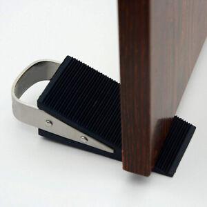 Door Wedge Rubber Heavy Duty Stop Tool Large Strong Stopper Jam Jammer Non Slips