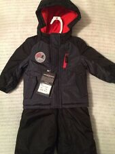 ZX ZeroXPosur 2 Piece Snow Suit 12 month Style G10476 Black Snowsuit