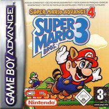 GameBoy Advance - Super Mario Advance 4: Super Mario Bros. 3 Modul mit Anl.