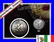 Orologio da tasca titanus 17 rubis decorazioni in basso rilievo molto decorato