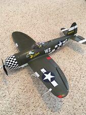 P-47 THUNDERBOLT RTF R/C ARF MODEL AIRPLANE EXCELLENT CONDITION TX RQD