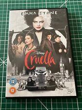 Cruella New DVD (Region 2 UK) - DISC IMMACULATE - FREE P&P