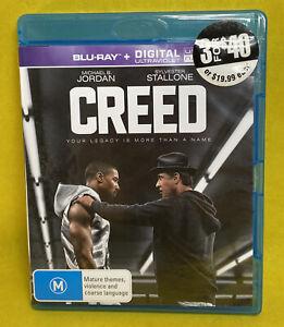 CREED Blu-Ray - Like New FREE POST
