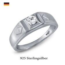 Ringe mit Edelsteinen im Solitär Stil für den Jahrestag echten runde