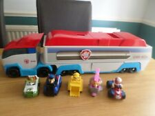PAW PATROL PAW PATROLLER WITH SOUND AND VEHICLES TRACKER FREE UK POST