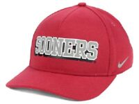 Oklahoma Sooners NCAA Nike Local Dri-Fit Swoosh Flex Fitted Hat