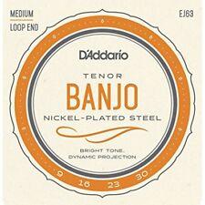 D'Addario EJ63 9 - 30 Nickel Tenor Banjo String