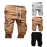Men's Casual Multi-pocket Shorts Outdoor Fitness Sports Running Breathable Pants