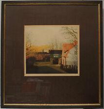 REIMER RIEDIGER 1942 GASTHAUS SCHLESWIG HOLSTEIN - RADIERUNG ELMSHORN Vierke HH