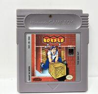 Boxxle (Nintendo Game Boy, 1990) Tested