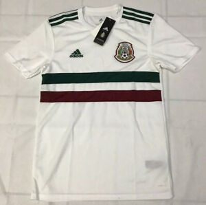 $90 adidas Mexico Men's Away Authentic Jersey Size Large