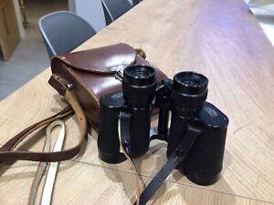 Carl ZEISS DDR Jena JENOPTEM 8x30W multicoated binoculars & case