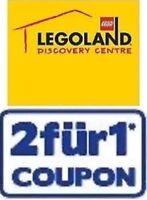 1 Gutschein 2:1, 1x EINTRITT FREI im Legoland Discovery Oberhausen 31.12.2019