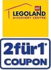 1 Gutschein 2:1, 1x EINTRITT FREI im Legoland Discovery Oberhausen 31.05.2019