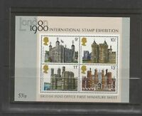 GB 1978 Commemorative Stamps~Buidings~ M/S~Unmounted Mint Set~UK