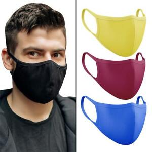 Face Mask Breathable Reusable Protective Mouth Covering Washable Cotton Lot
