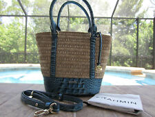 NWT BRAHMIN SMALL BOWIE MANTLE TOTE R34 1491 00072