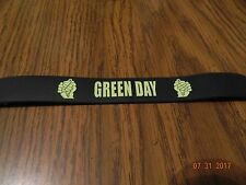 "New- GREEN DAY ""American Idiot"" logo Rubber wristband Bracelet"
