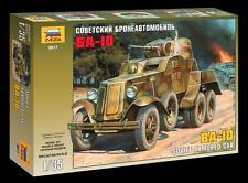 Zvezda  1:35  Soviet BA10 Armored Car  ZVE3617