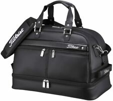 TITLEIST Boston Bag Sports Gym Travel AJBB67-BK Black W/Shoes Pocket japan new