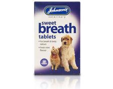 Johnson's Dog & Cat Sweet Breath Tablets for Fresh Breath & for Fresh Body Odour