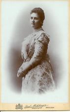 Bathildis Fürstin von Waldeck Vintage silver print. La princesse Bathilde de S