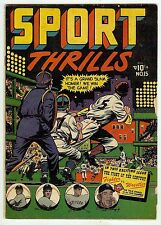 Sport Thrills #15 (Star 1951, fn- 5.5) guide value in this grade: $65 (£43.50)