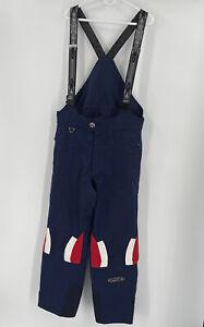 Spyder Men's Size XL Bib Ski Pants Red White Blue Thinsulate