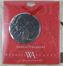 Vintage Wendell August Forge Christmas Ornament 2013 Aluminum