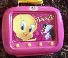 TWEETY 2 pc Tin LUNCHBOX Looney Tunes Eau de Toliette 1.7fl.oz & Shower Gel NEW!