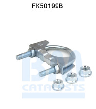 1x Replacement Exhaust Petrol Front Piper Fitting Kit For BM50199