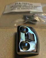 Ford Chrome Plated Door Striker for Closed Car 1940 / Station Wagon 1941-1948