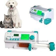 FDA Veterinary Syringe Pump With Voice Alarm KVO+Drug library for Animal Vet Use