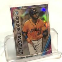 2020 Bowman Chrome Yordan Alvarez Rookie of the Year Favorites ROYF-YA Refractor