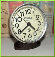 Soviet Vintage Slava Alarm Clock USSR 1980~Perfect Condition #64212
