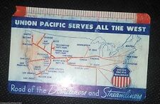 1960 Union Pacific Railroad Pocket Calendar