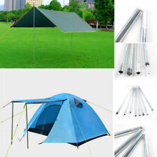 4x2M Outdoor Backpacking Aluminium Alloy Tent Poles Bar Travel Camping Hiking、UK