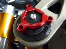 FORK PRE LOAD ADJUSTERS RED 14MM  Yamaha MT-09 MT09 YZF R1 R6 FZ1 FAZER    R1C8