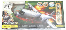 True Heroes Sentinel 1 AB-115 SHARK Military Aircraft Playset Toys R US NEW!