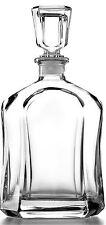 Decanter Novelty Glass Liquor Whiskey Crystal Wine Stopper Scotch Bottle Clear