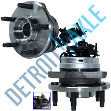 2 Front Wheel Bearing & Hub for Chevy Malibu Pontiac G6 Saturn Aura ABS 5 LUG