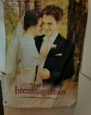 Twilight Breaking Dawn Part 1 Fabric Wall Hanging  39x29 Very good condition