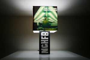 Handmade 'NGHFB's' Lamp + Album Cover Lampshade, oasis, noel gallagher