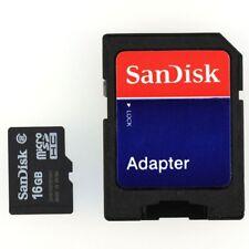 16GB Micro SD SDHC MicroSD Memory Card 16 G GB 16G TF