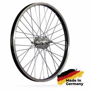 Laufrad 20 Zoll Hinterrad Fahrrad Rücktrittbremse Aluminiumfelge 1 Gang schwarz