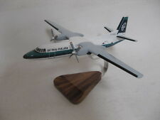 Fokker 27 F27 Friendship Air New Zealand Airplane Desktop Wood Model