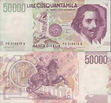 """50.000 lire 1997 """"Bernini"""""""