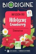 BiOrigine – Infusion bio Hibiscus Cranberry – Pour le maintien du confort...