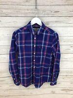 JACK WILLS Lumberjack Shirt - Size UK8 - Check - Great Condition - Women's