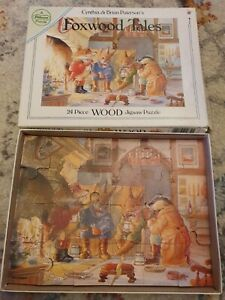 Vintage Foxwood Tales Wood Jigsaw (24 Pieces)